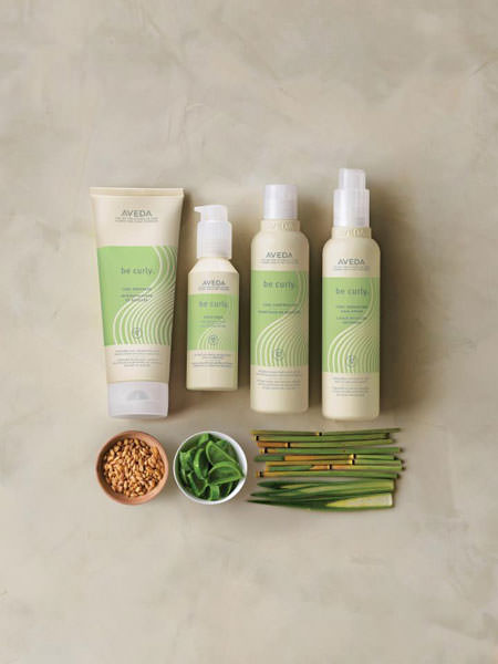 Aveda-Be-Curly-bottles