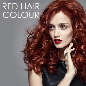 red hair colour at partners hair  beauty salon dundee