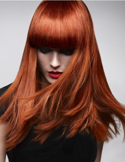 Red Hair Colour At Partners Hair Amp Beauty Salon Dundee