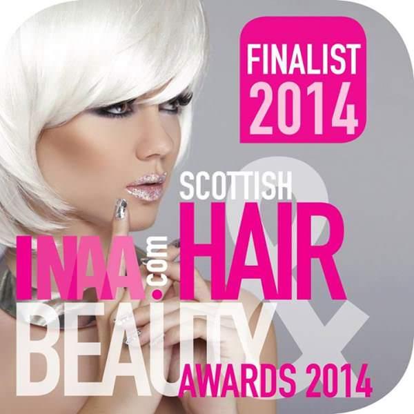 Scottish Hair and beauty awards partners hair salon dundee