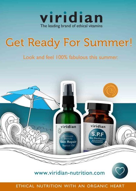 Get ready for Summer with Viridian Nutrition
