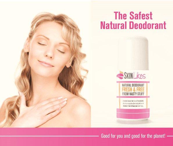 100% Natural Deodorant by SkinLikes