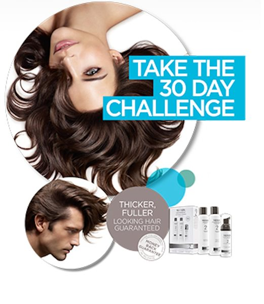 Experience 'Nioxin' Award-winning Products For Thinning Hair