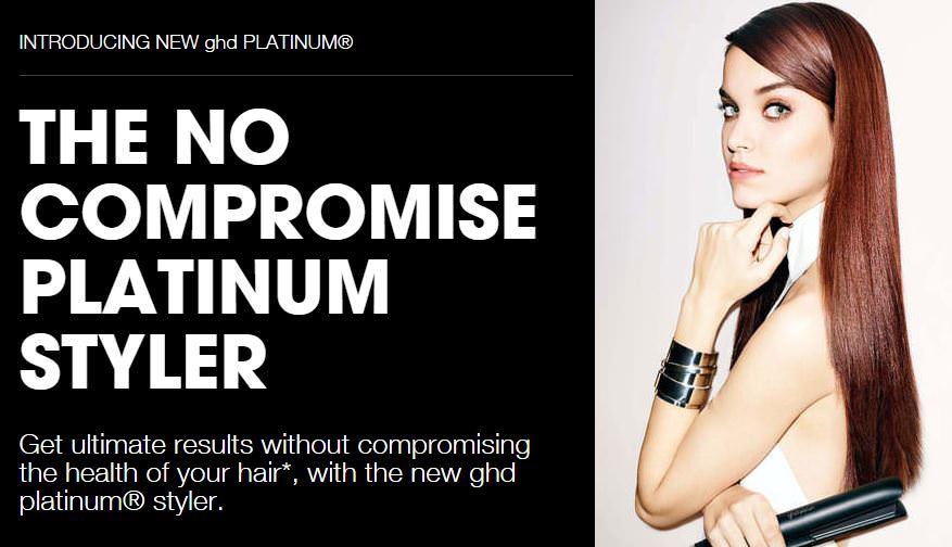 GHD platinum styler dundee, hair salon in dundee