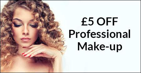 £5 OFF Professional Make-up