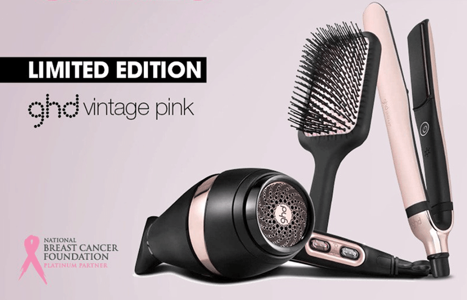 Buy a Limited Edition Pink ghd Styler… & Support Breast Cancer