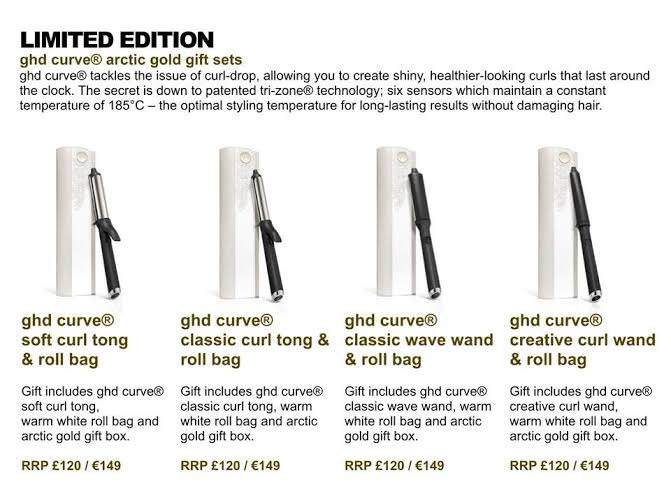 ghd arctic gold range salon in dundee