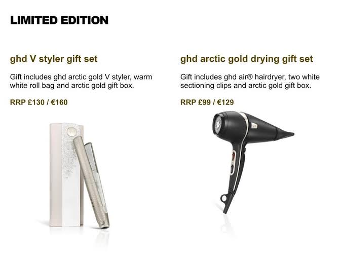 NEW ghd stylers for Christmas 2015