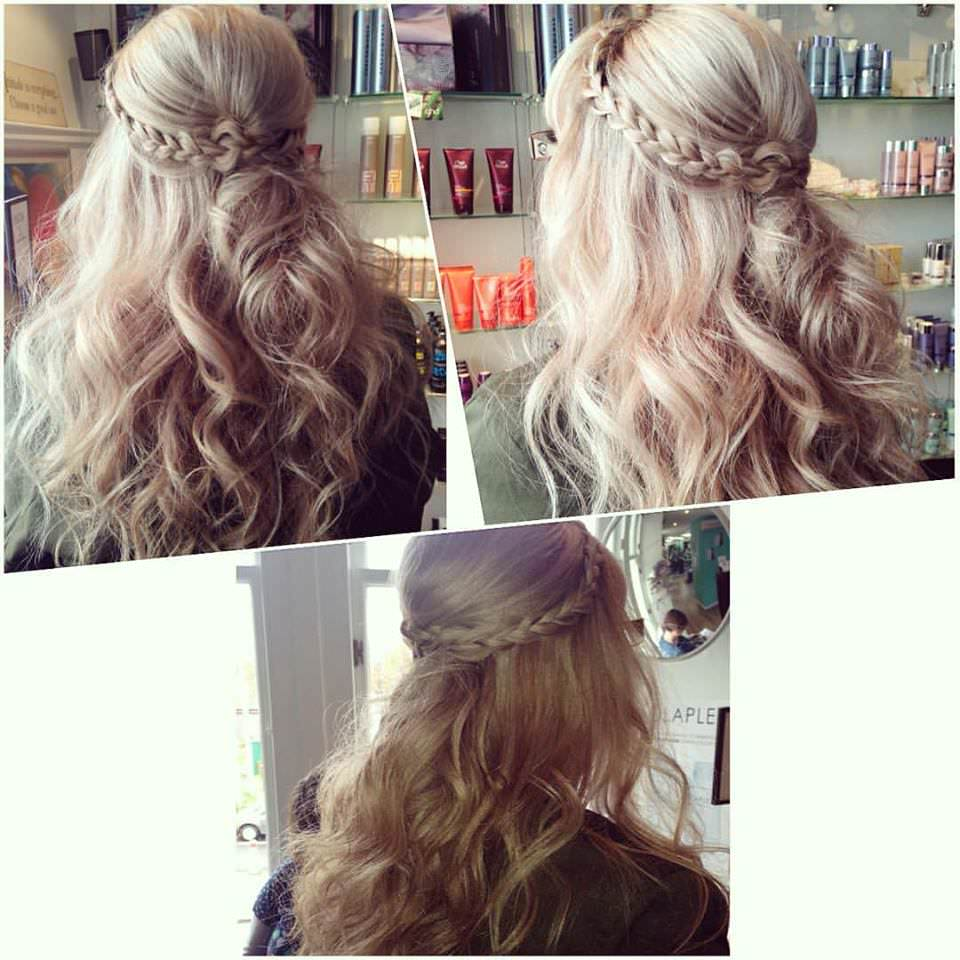 blonde boho hair by Steph