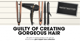 NEW ghd Copper Luxe Collection for Christmas 2016!