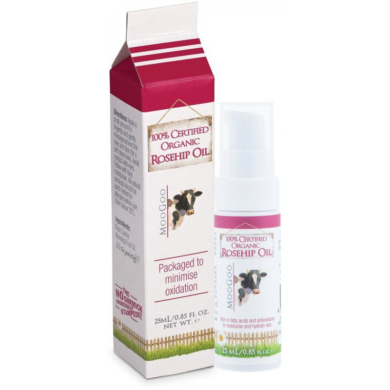 NEW MooGoo 100% Certified Organic Rosehip Oil