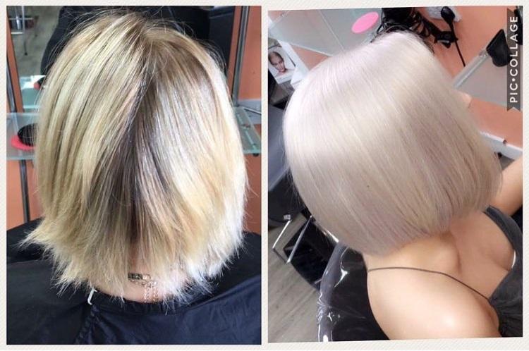 hair colour at Partners hair salon Dundee