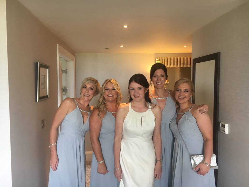 WEDDING HAIRSTYLES, home visits, bridal hair at Dundee hair & beauty salon