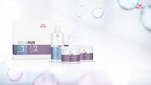 Wellaplex hair strengthening treatment, partners hairdressers, dundee