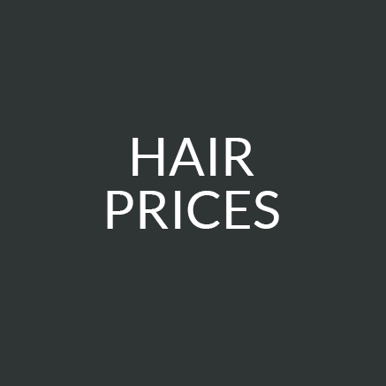 Hairdressing Prices