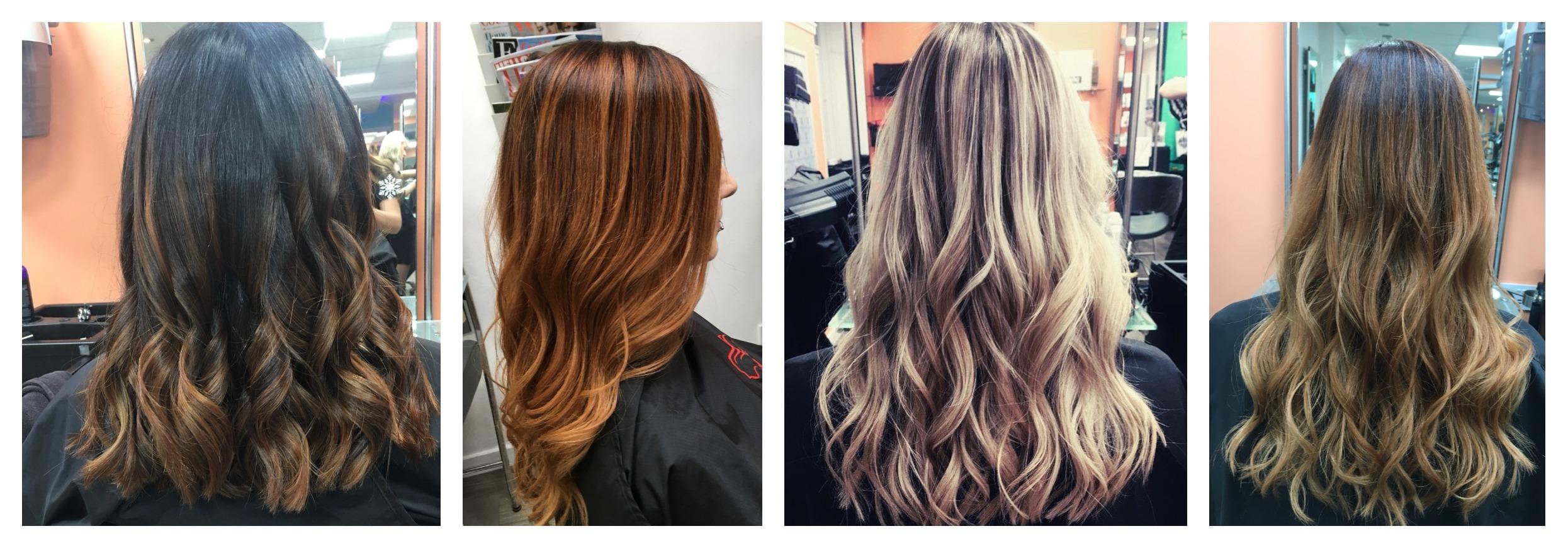 balayage hair colour salon Dundee
