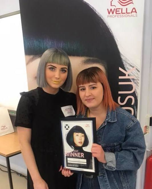 Stylist Anya Reaches Wella Xposure Competition Finals!