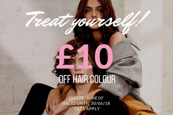 hair colour offer Dundee salon