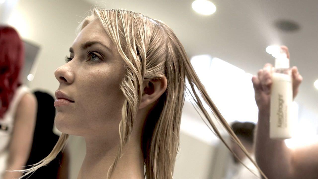 Brazilian blow dry treatment Dundee hair salon
