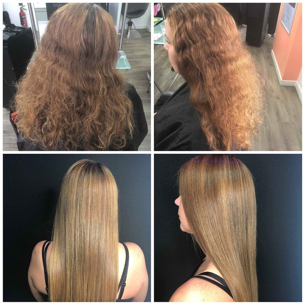 KeraStraight smoothing treatment Dundee salon