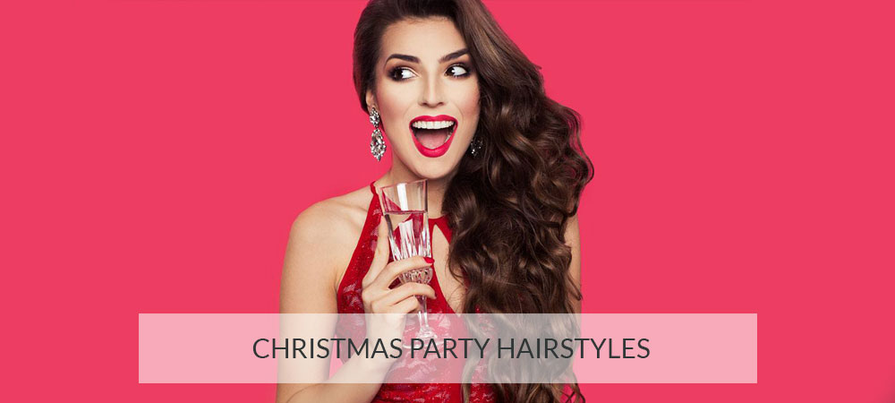 new style hair salon and new year hair at partners hair 2018 | Christmas Party Hairstyles banner