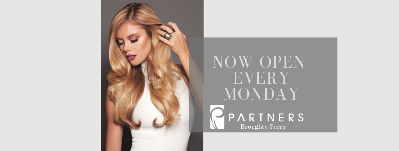 dundee salon open Mondays, partners salon broughty ferry