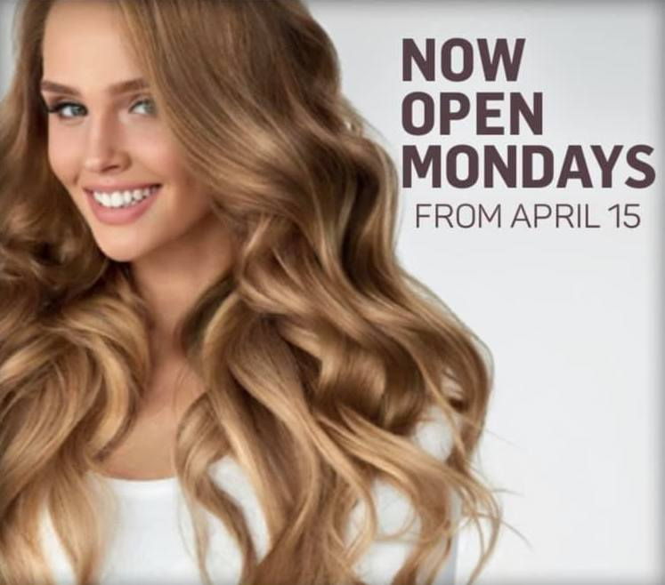 We're Now Open On Mondays!