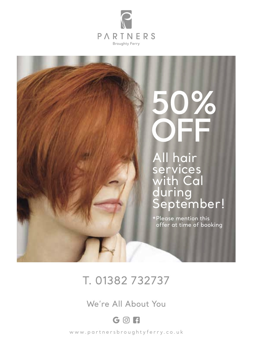 Partners Dundee HALF PRICE COLOUR Offer