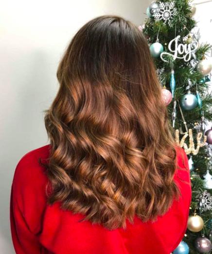 Partners salon dundee wavy hair