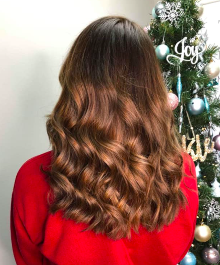 Partners salon dundee wavy hair