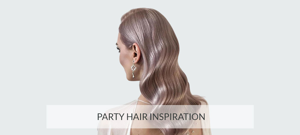 Party Hair Inspiration banner