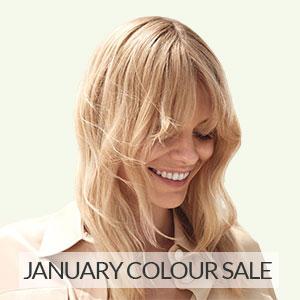 January SALE – 40% OFF Hair Colour!