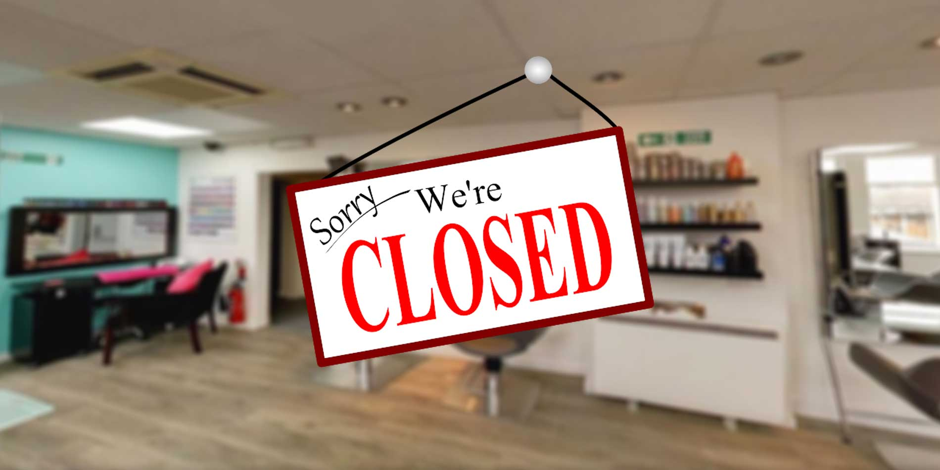 sorry we are closed partners