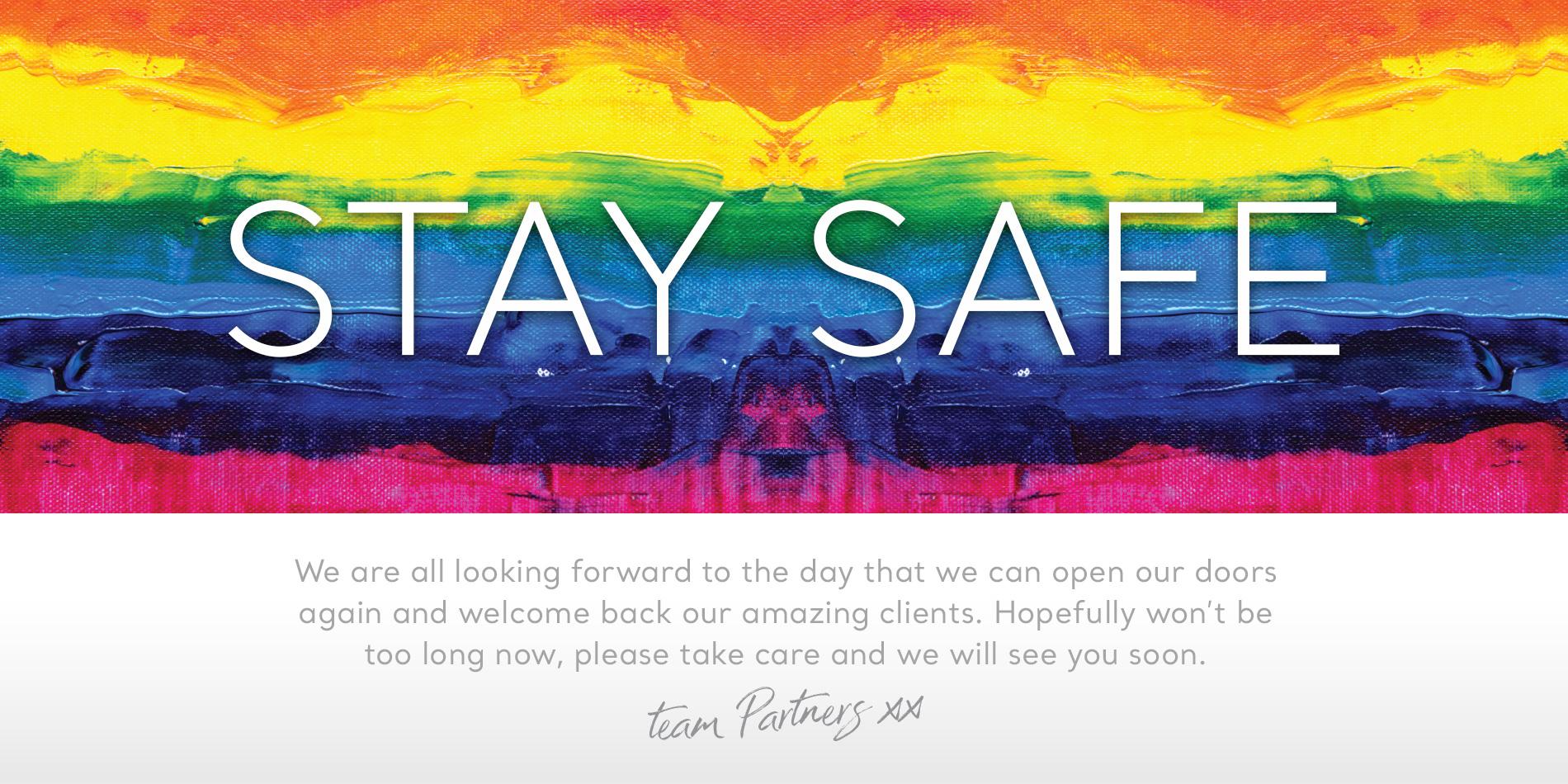 Stay Safe C19 Banner