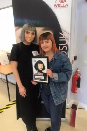 Partners Hair and Beauty Wella Exposure Competition Regional Winner Anya Davidson