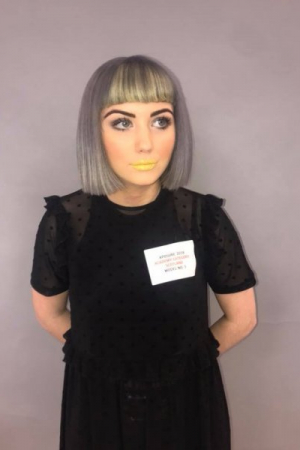 Partners Hair and Beauty Wella Exposure Competition Regional Winner Anya Davidsons Model Look